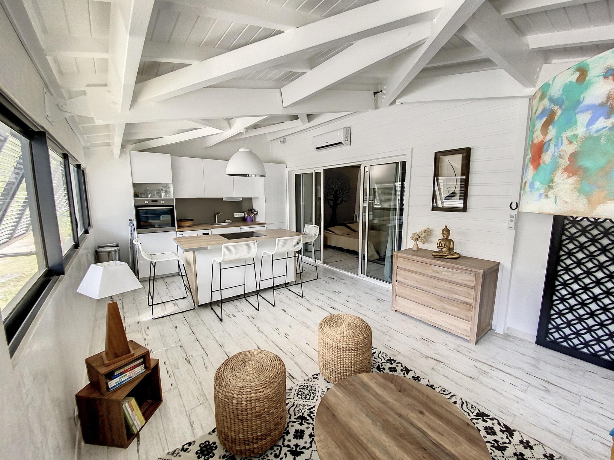 Appartement 2 chambres dans résidence de standing Anse Marcel